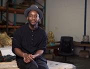 Mohau Modisakeng, the Standard Bank Artist Award 2016 winner for visual art